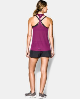 Women's UA Fly-By Stretch Mesh Tank  4 Colors $17.99 to $22.99