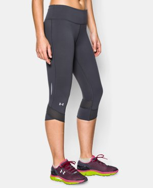 Women's UA Fly-By Compression Capri  1 Color $44.99