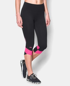 Women's UA Fly-By Compression Capri  1 Color $37.99