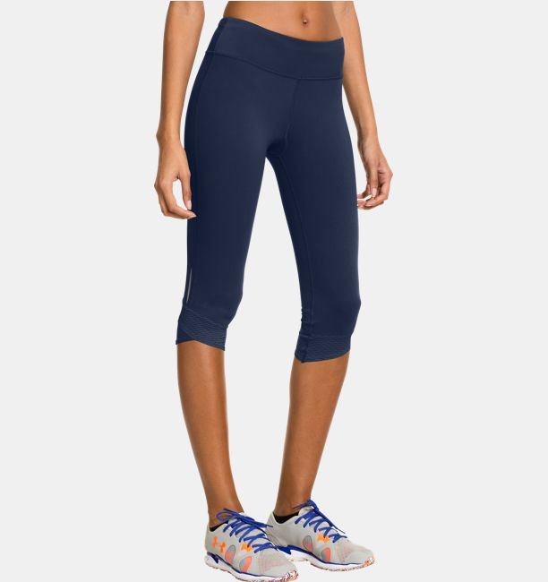 d876f1b6 Women's UA Fly-By Compression Capri | Under Armour US