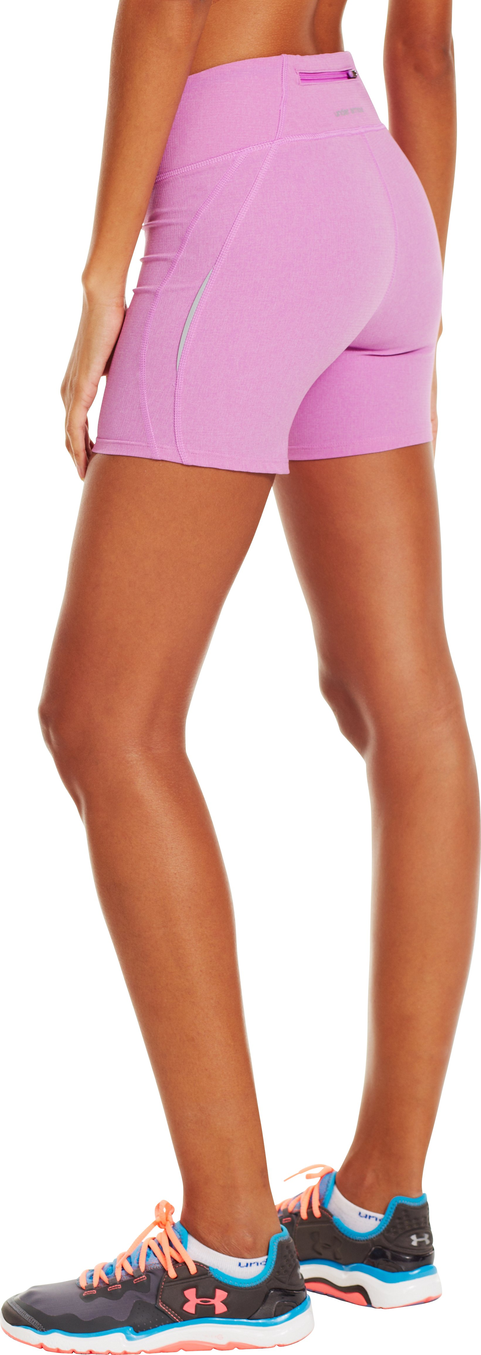 Women's UA Stunner Shorts, EXOTIC BLOOM