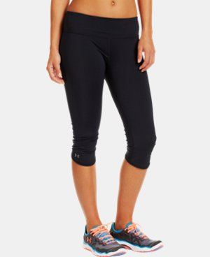 Women's HeatGear® ArmourVent™ Capri LIMITED TIME: FREE U.S. SHIPPING 1 Color $35.99
