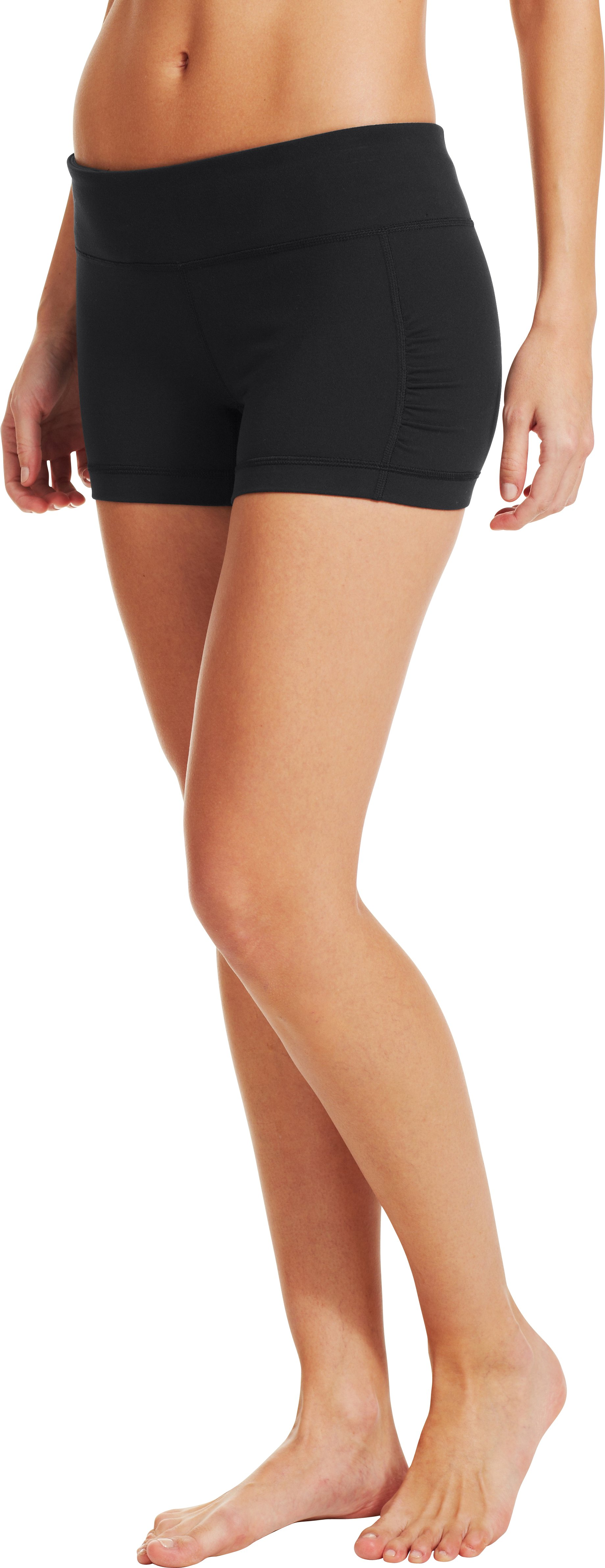 Women's UA StudioLux® Shorty, Black ,