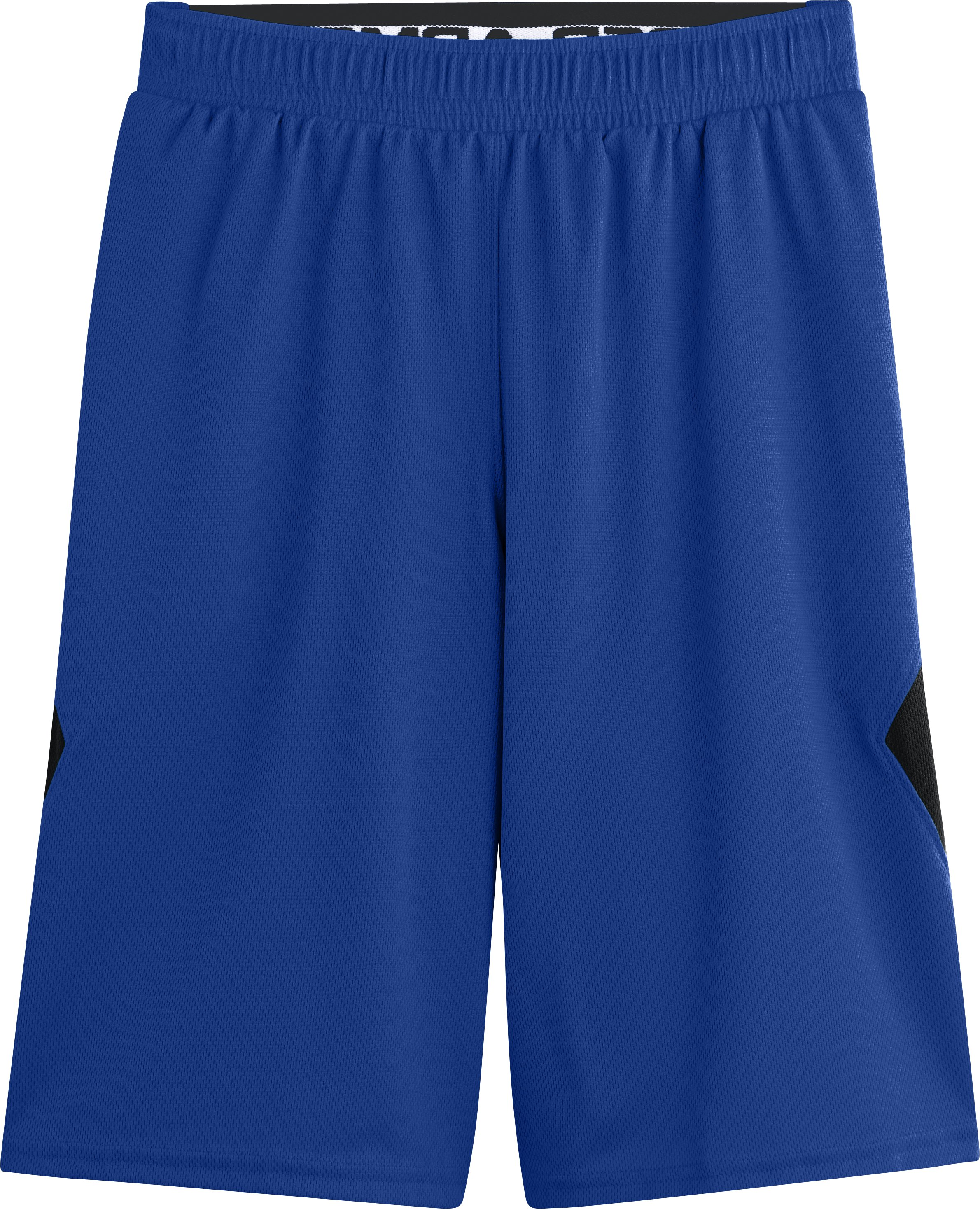 Boys' UA From Downtown Shorts, Royal, Laydown
