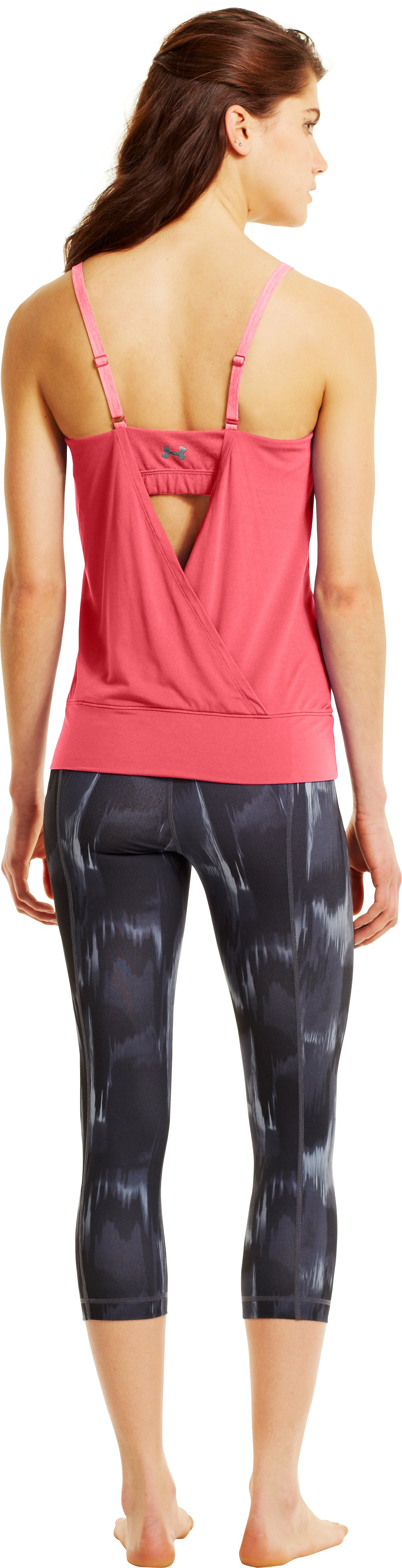 Women's UA Essential Banded Tank, BRILLIANCE, zoomed image
