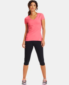 Women's HeatGear® ArmourVent™ Short Sleeve  1 Color $24.99 to $33.99