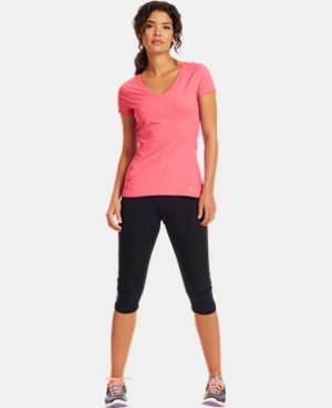 Women's HeatGear® ArmourVent™ Short Sleeve  1 Color $33.99