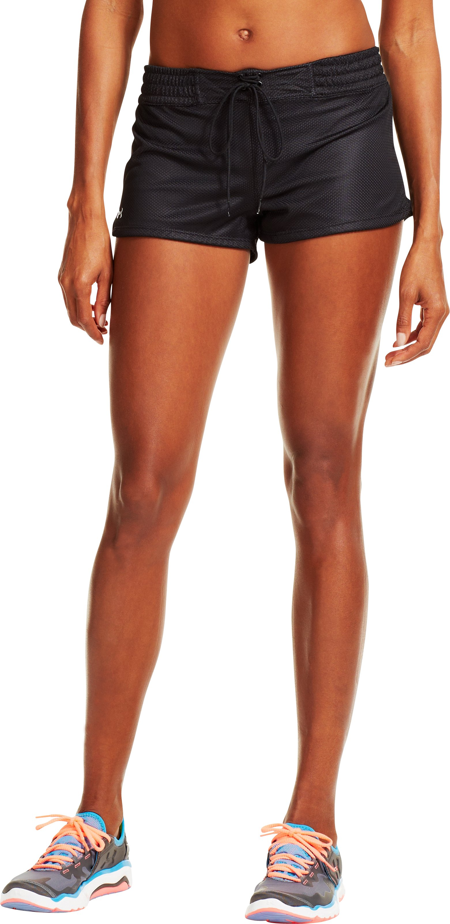 Women's UA Upton Mesh Shorty, Black