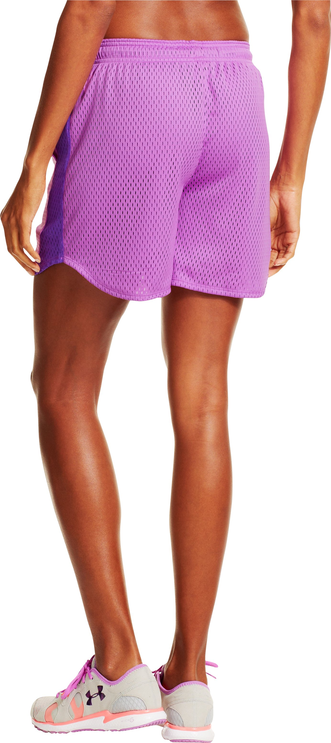 Women's UA Trophy Shorts, EXOTIC BLOOM