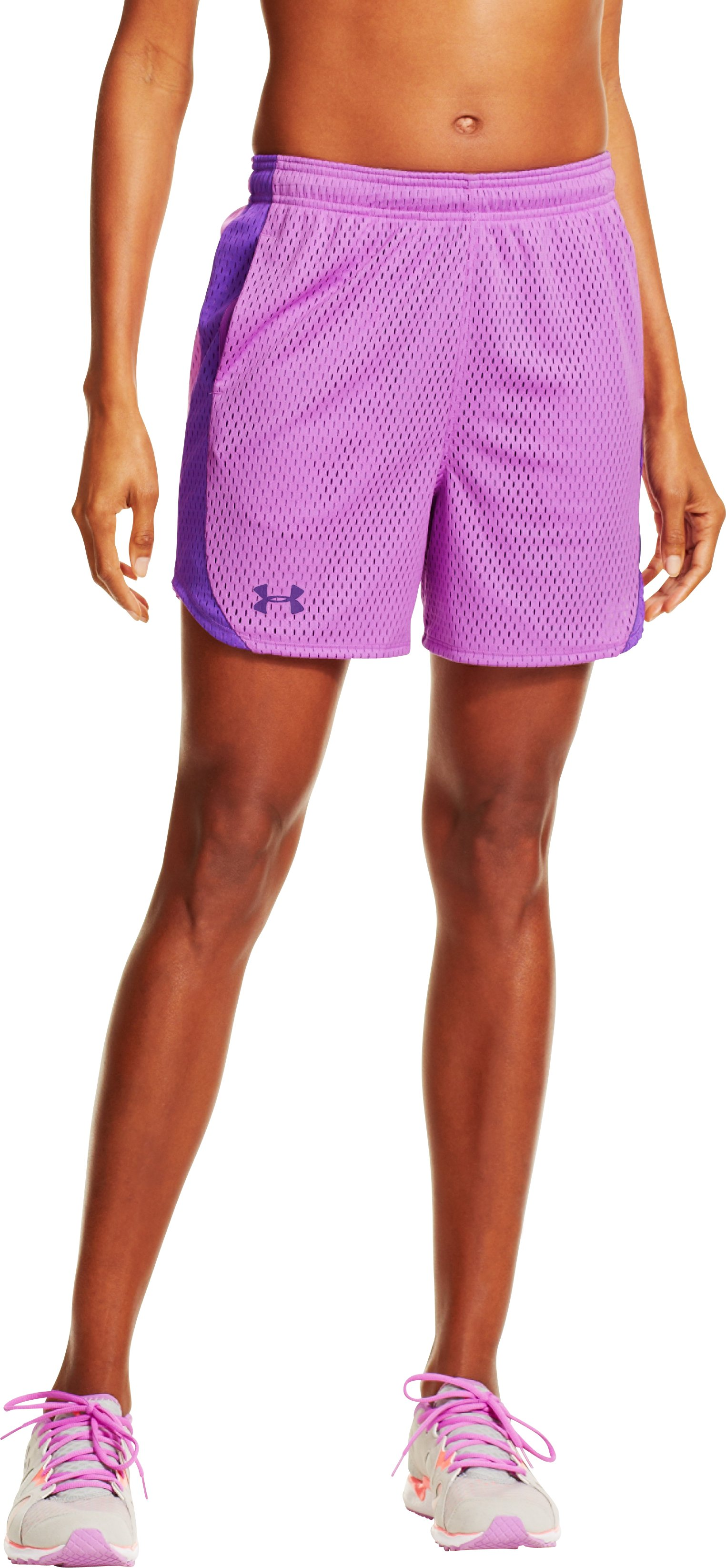 Women's UA Trophy Shorts, EXOTIC BLOOM, undefined