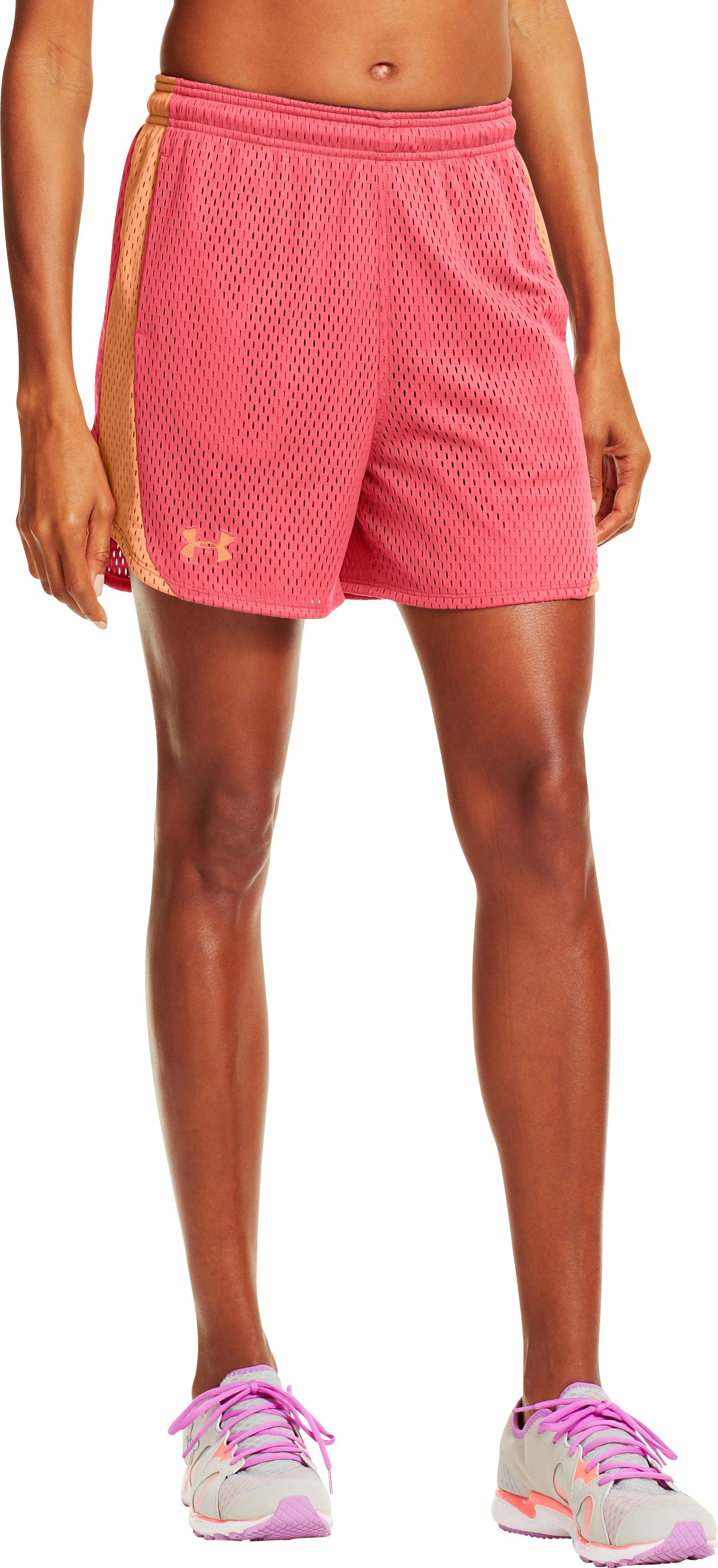 Women's UA Trophy Shorts, BRILLIANCE, zoomed image