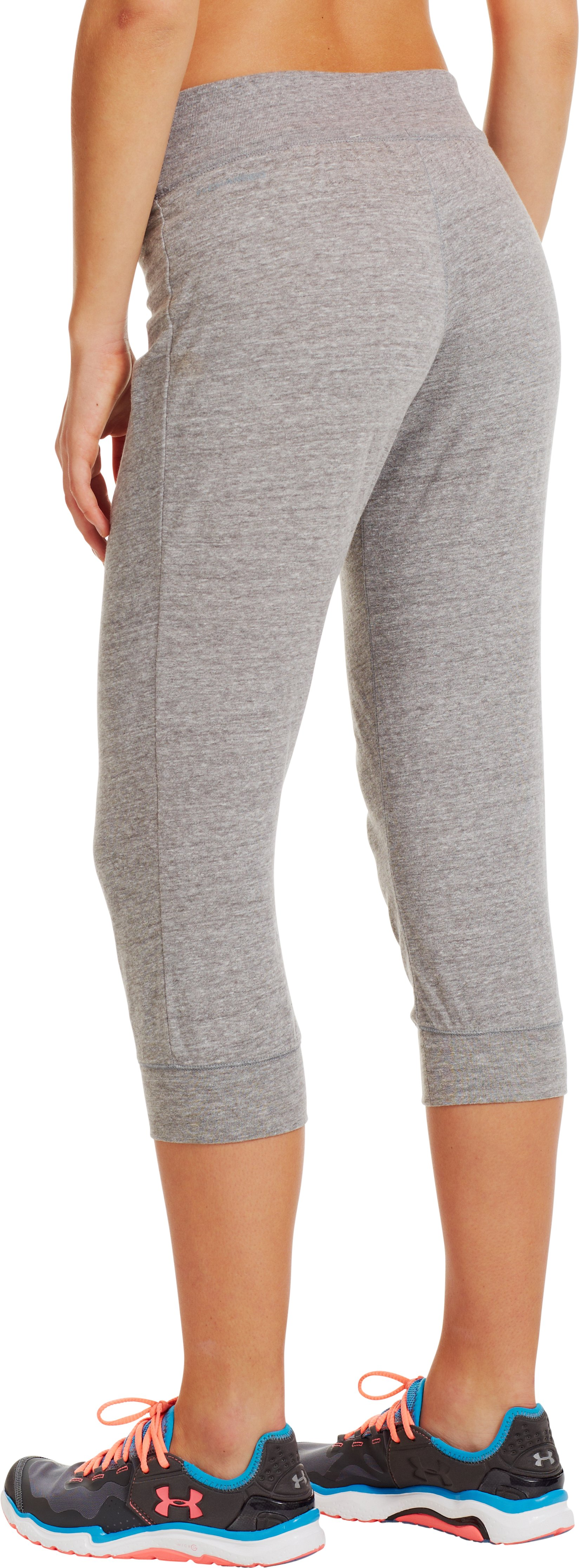 Women's Charged Cotton® Undeniable Capri, Charcoal