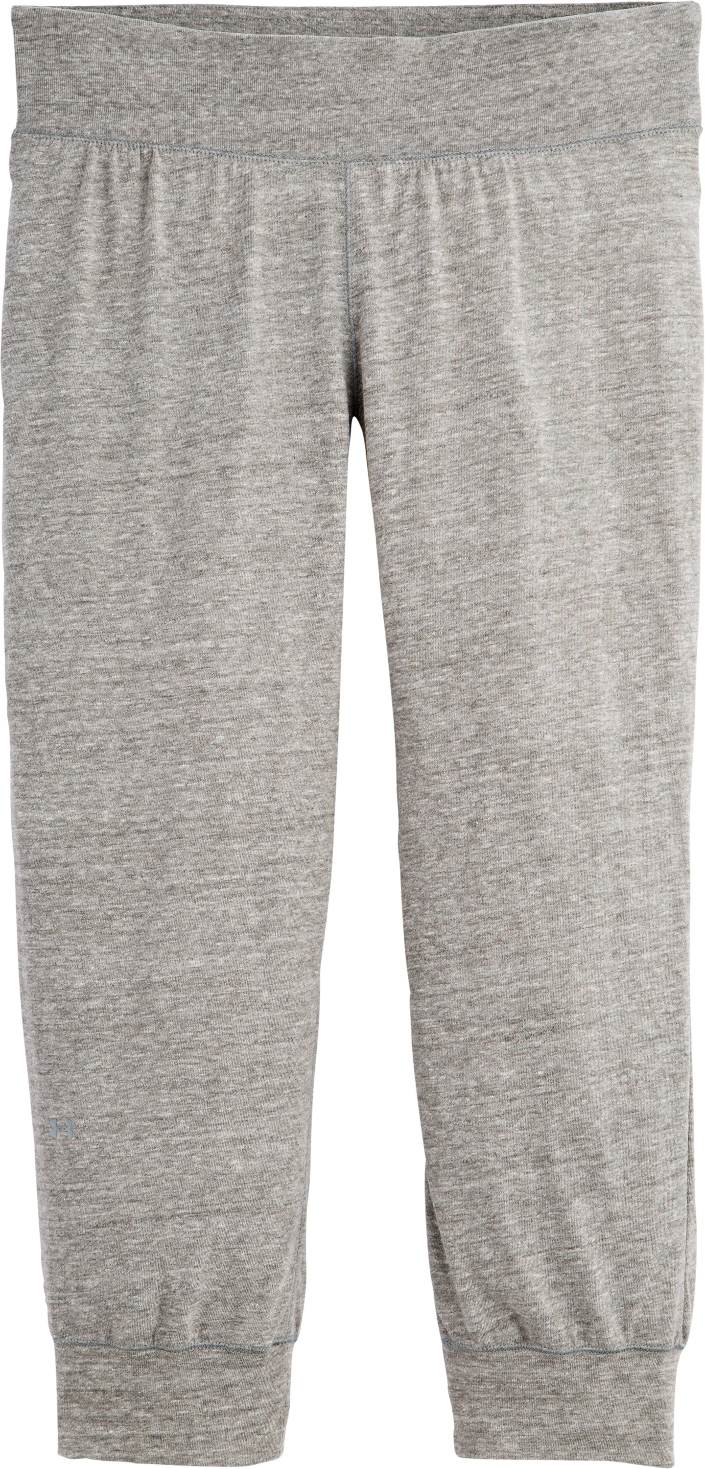 Women's Charged Cotton® Undeniable Capri, Charcoal, Laydown