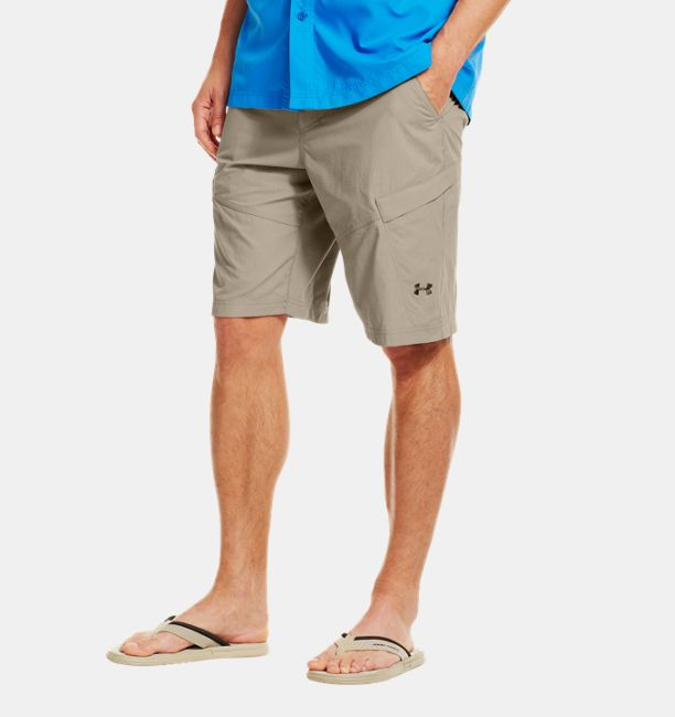 Men s ua guide shorts under armour us for Under armour fishing shorts