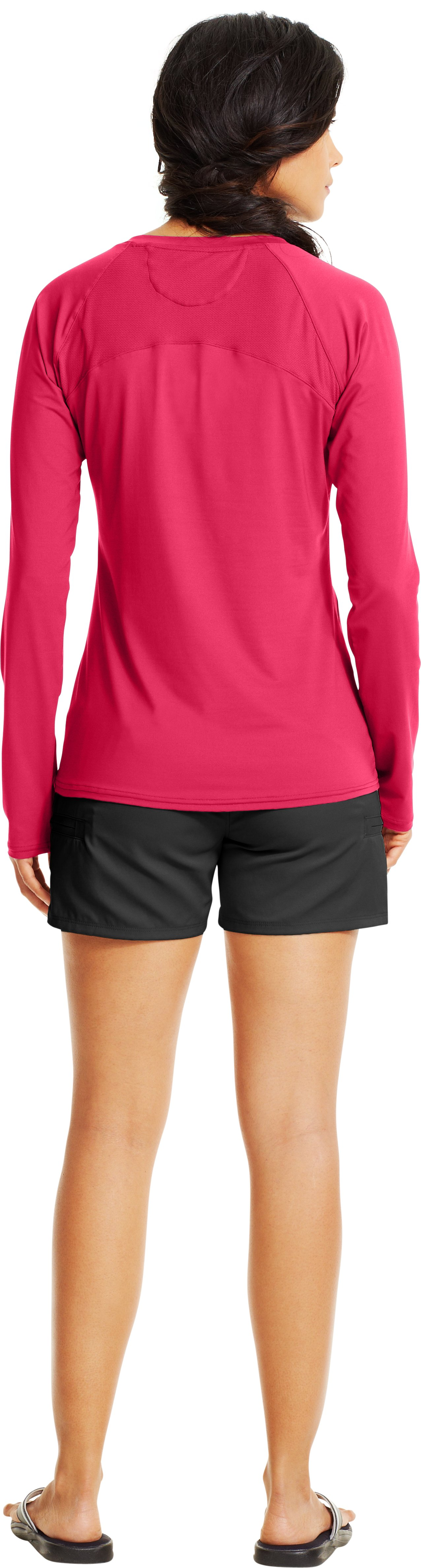Women's UA Iso-Chill Long Sleeve, Hollywood, Back