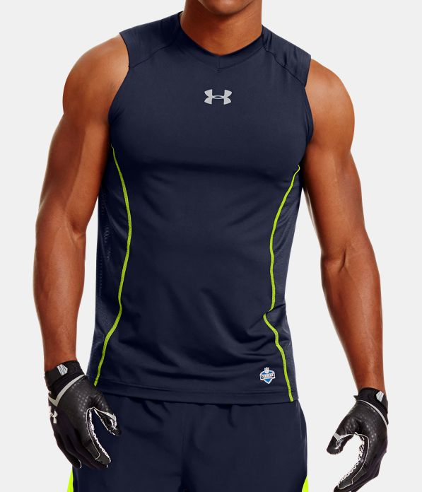 Men S Nfl Combine Authentic Fitted Sleeveless Shirt