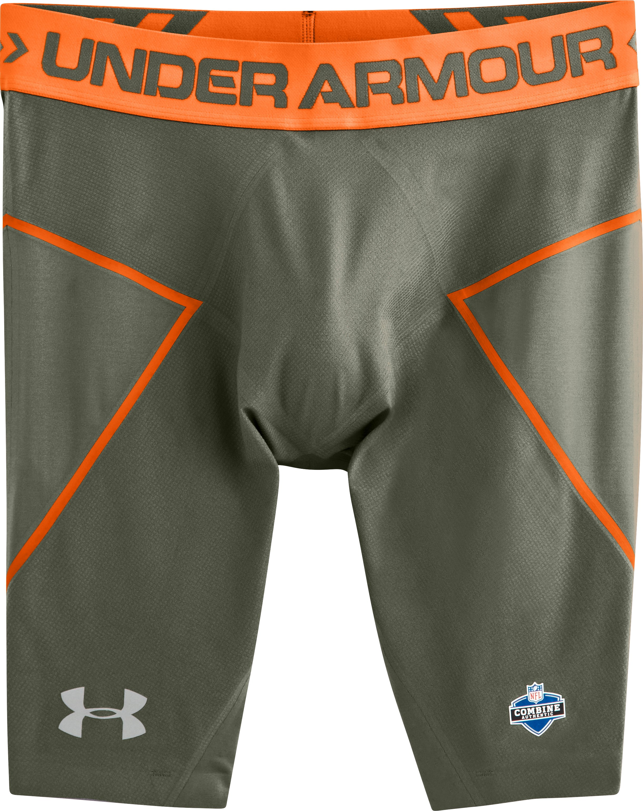 Men's UA HeatGear® Coreshort Prima, Rough, Laydown
