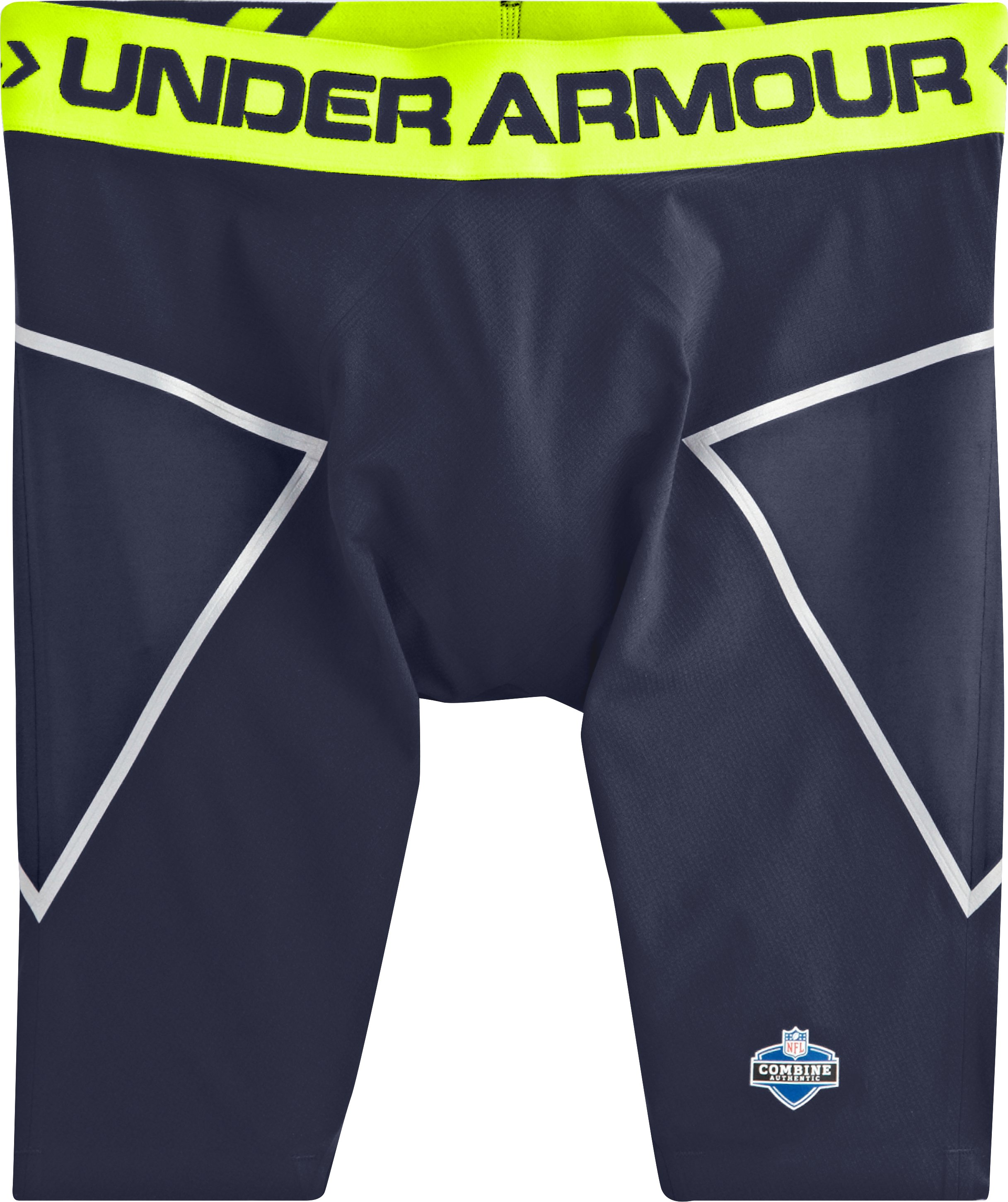 Men's NFL Combine Authentic Onfield Coreshorts, Midnight Navy, Laydown