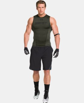 Men's UA Army Of 11 Football Sleeveless Compression Shirt