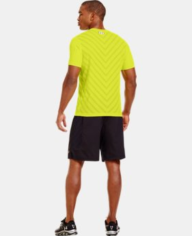Men's HeatGear® ArmourVent™ Fitted Short Sleeve LIMITED TIME: FREE U.S. SHIPPING 1 Color $34.99
