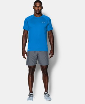 Men's HeatGear® Flyweight Run Short Sleeve