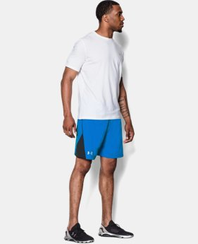 "Men's UA HeatGear® Flyweight Run 7"" Shorts"