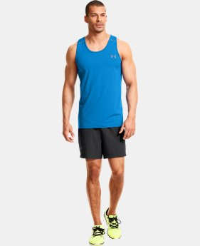 Men's HeatGear® ArmourVent™ Run Singlet