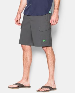 Best Seller Men's UA Fish Hunter Cargo Shorts  4 Colors $64.99