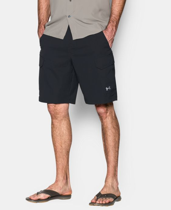 Best Seller  Men's UA Fish Hunter Cargo Shorts LIMITED TIME: FREE SHIPPING 1 Color $74.99