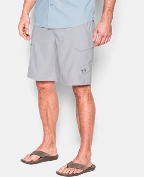 Best Seller  Men's UA Fish Hunter Cargo Shorts  3 Colors $74.99