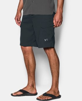 Best Seller Men's UA Fish Hunter Cargo Shorts  3 Colors $64.99