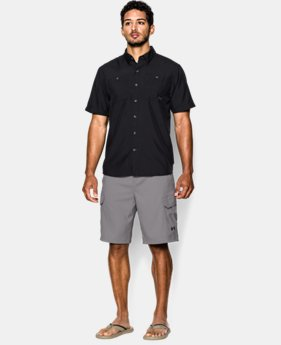 Men's UA Fish Hunter Cargo Shorts LIMITED TIME: FREE U.S. SHIPPING 1 Color $38.99 to $64.99