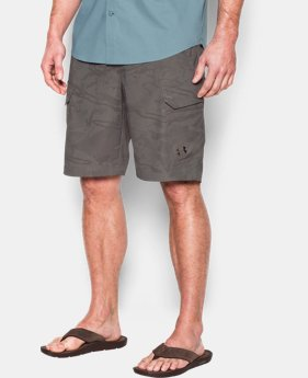 Men's UA Fish Hunter Cargo Shorts  3 Colors $36.74