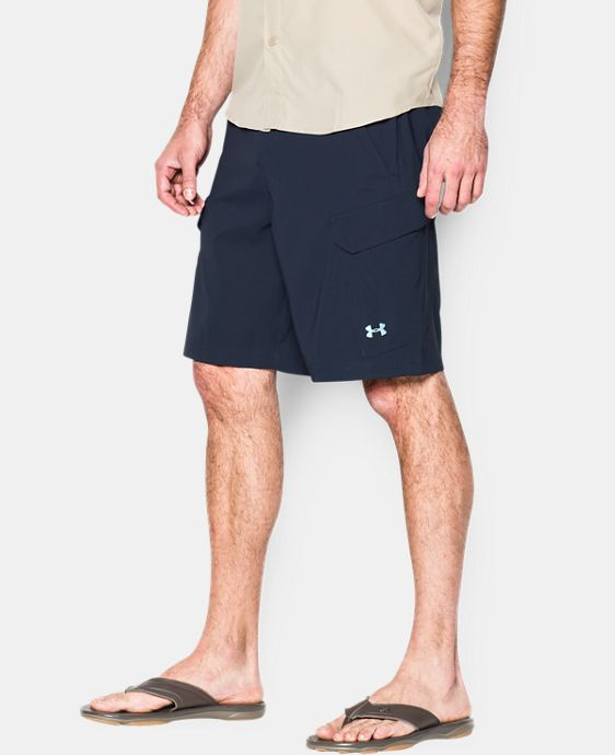Best Seller  Men's UA Fish Hunter Cargo Shorts  4 Colors $74.99