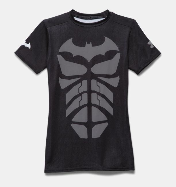 Boys Ua Super Hero Fitted Shirt Under Armour Ca
