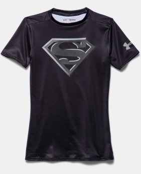 Boys' UA Super Hero Fitted Shirt