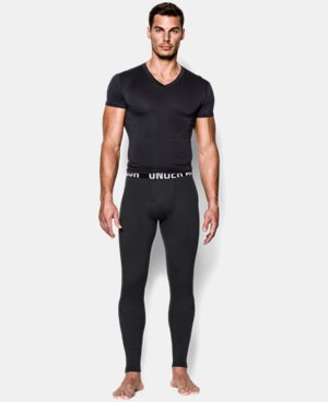 Best Seller  Men's ColdGear® Infrared Tactical Fitted Leggings LIMITED TIME: FREE SHIPPING 1 Color $64.99