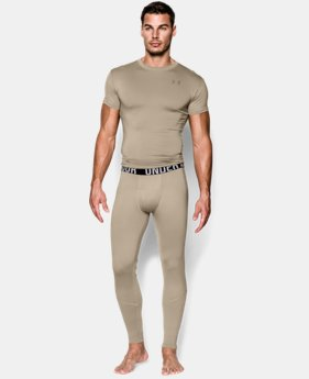 New to Outlet Men's ColdGear® Infrared Tactical Fitted Leggings  1 Color $31.49