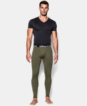 Best Seller Men's ColdGear® Infrared Tactical Fitted Leggings  1  Color Available $54.99