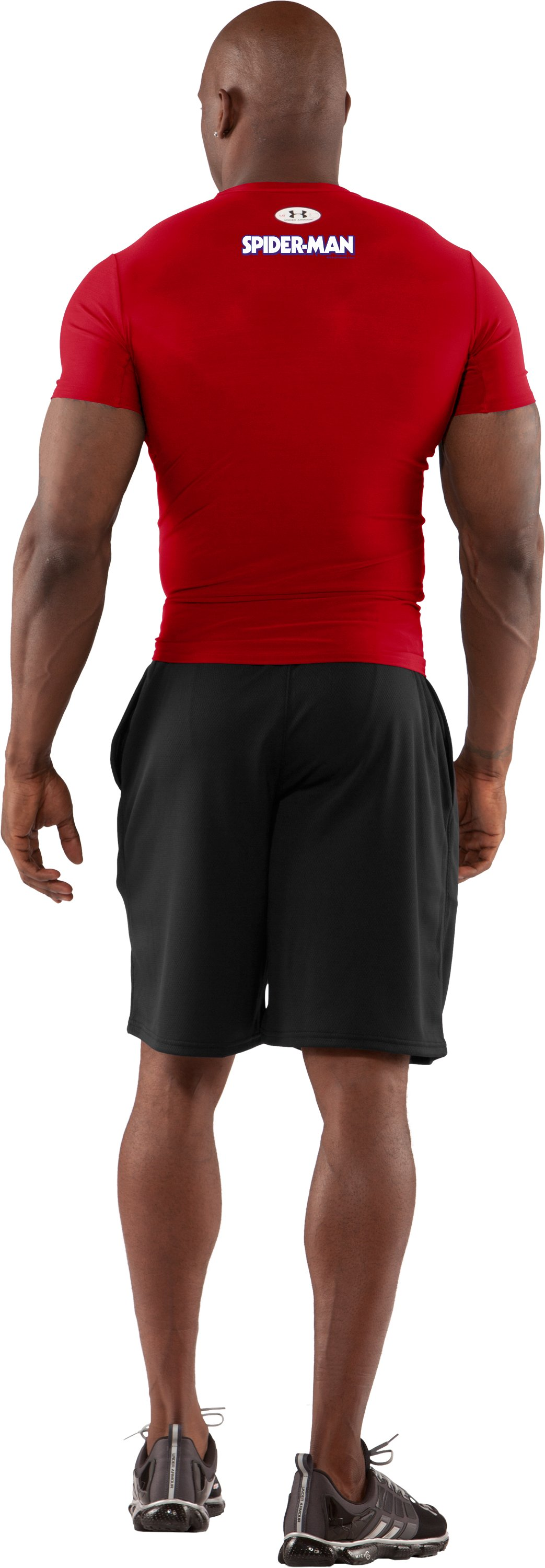 Men's Under Armour® Alter Ego Compression Shirt, Red, Back