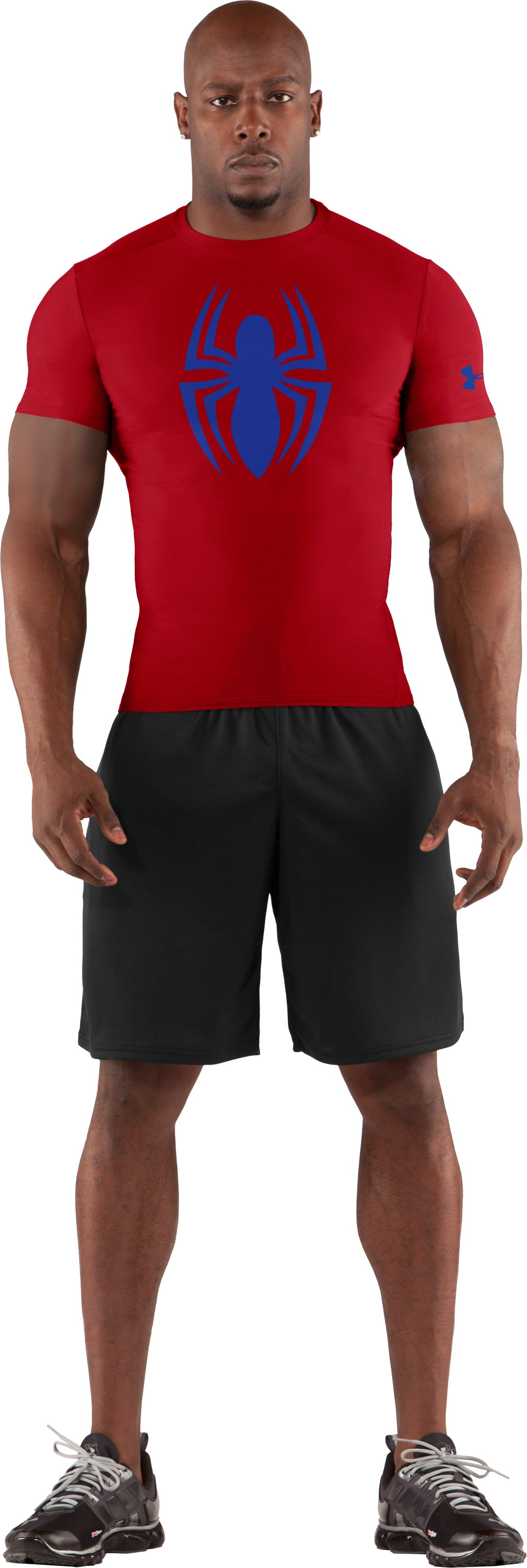 Men's Under Armour® Alter Ego Compression Shirt, Red, zoomed image