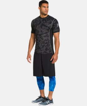 Men's HeatGear® Sonic Fitted Printed Short Sleeve LIMITED TIME: FREE U.S. SHIPPING 1 Color $17.99 to $21.99