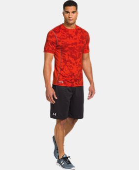 Men's HeatGear® Sonic Fitted Printed Short Sleeve LIMITED TIME: FREE U.S. SHIPPING 1 Color $17.99