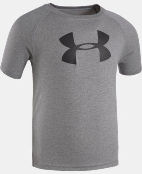 Boys' 4-7 UA Big Logo T-Shirt LIMITED TIME: FREE SHIPPING 1 Color $17.99