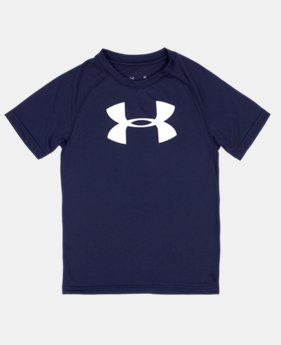 Boys' 4-7 UA Big Logo T-Shirt