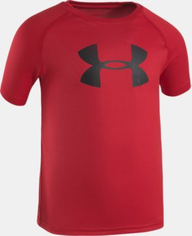 Boys' 4-7 UA Big Logo T-Shirt LIMITED TIME: FREE U.S. SHIPPING 1 Color $17.99