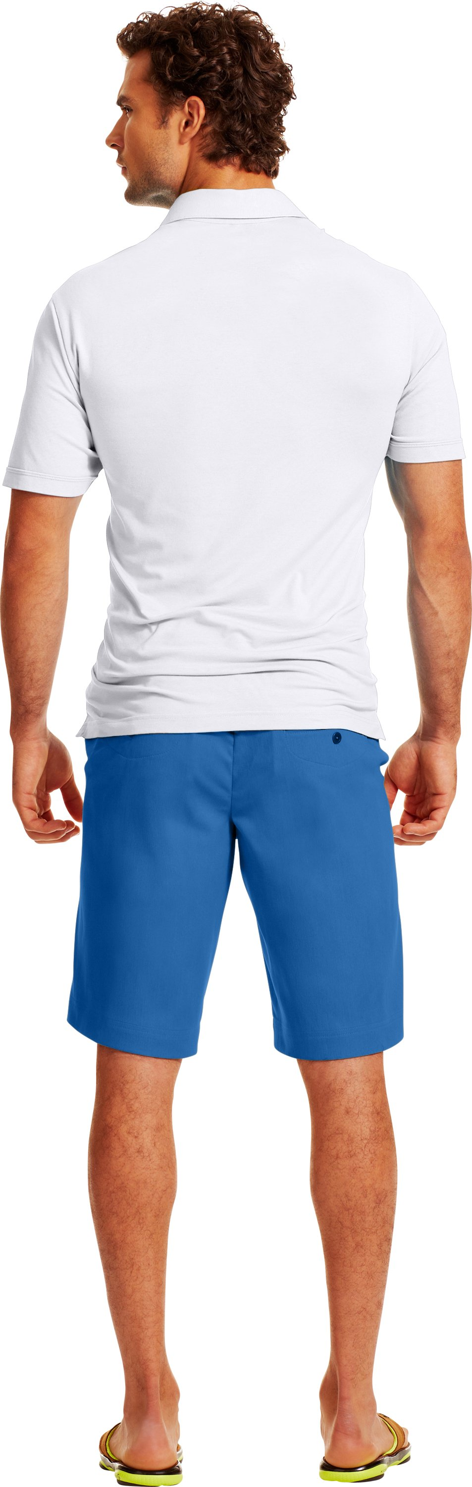 Men's UA Performance Chino Shorts, VICTORY BLUE, Back