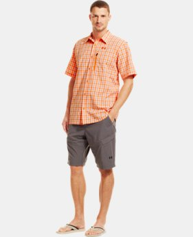 Men's UA Fish Hunter Short Sleeve Shirt