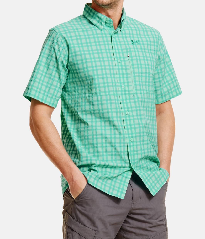 Men S Ua Fish Hunter Short Sleeve Shirt Under Armour Us