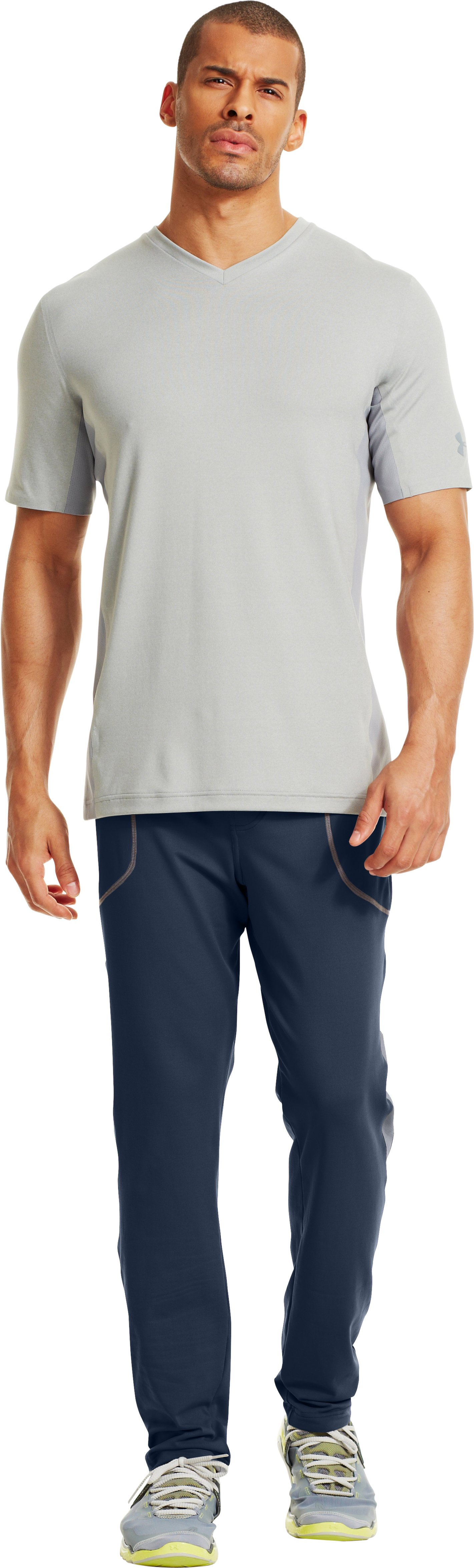Men's UA X-Alt Knit Pants – Tapered Leg, Academy, Front